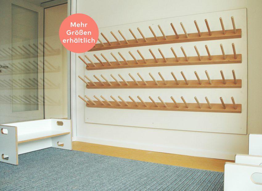 papoq Gummistiefel-Wand Kindergarten